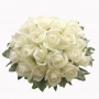 White rose bouquet : winni