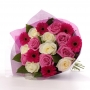 Different color rose and gerbera flower : winni