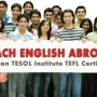 Train with the best professionals with an online TEFL course
