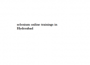Best LoadRunner Online Training in Hyderabad
