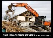 fixitdemolition@gmail.com FIXIT BUILDING DEMOLISHERS FIXIT Building Demolition Contractorv