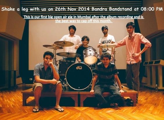 Shake a leg with us on 26th nov 2014 at bandra bandstand 08:00 pm