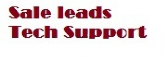 Tech support sale leads