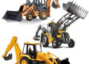 Construction equipment - rent backhoe for project