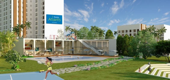 Pictures of India property : 3bhk luxury apartments in bangalore, gopalan atlantis 3