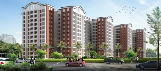 Pictures of India property : 3bhk luxury apartments in bangalore, gopalan atlantis 1