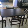 brand new wooden dining table