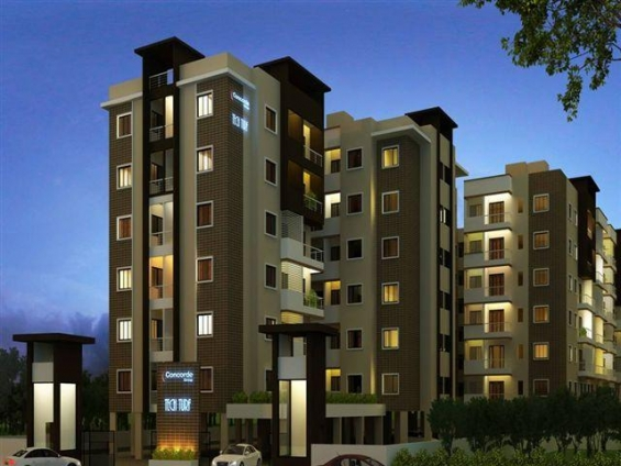 Concorde tech turf - luxury yet affordable flats near wipro office