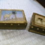 Gemstone Painting Wooden Box in Wholesale