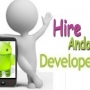 Hire Android app developers as customized development.