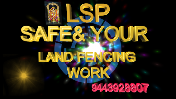 Lsp fencing work in chennai