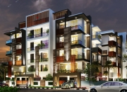 BBMP Approved Serene Apartment 3BHK flats are available