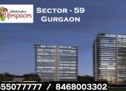 Mahindra Sector 59 Gurgaon @ 9555077777