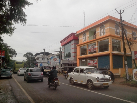 Commercial space for rent in attingal
