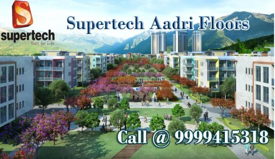 Supertech aadri floors sector 79 gurgaon call @9999415318
