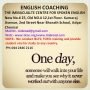 English Coaching:- THE IMMACULATE CENTRE FOR SPOKEN ENGLISH