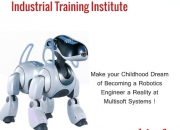 Make your Childhood Dream of Becoming a Robotics Engineer a Reality at Multisoft Systems!