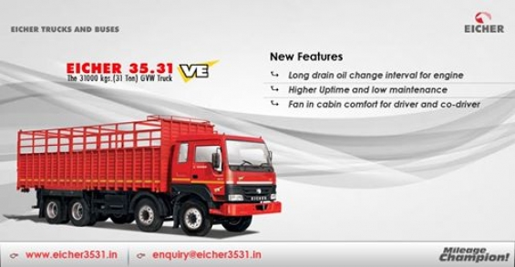 The fuel efficient 12 tyre heavy duty truck