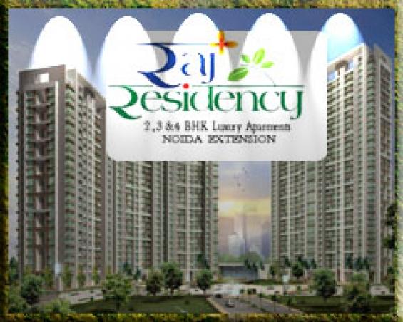 Addela raj residency residential project in noida extension.