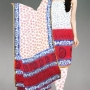 online shopping half white Venkatagiri handloom cotton salwar kameez from unnati silks