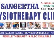 Sangeetha physiotherapy clinic at tarnaka near innova hospital