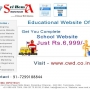 Get your complete School website just for Rs. 6,999/