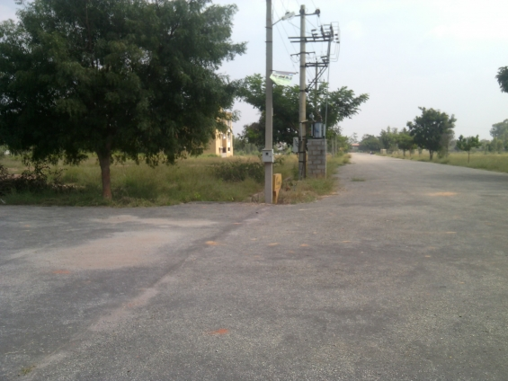 Residential site for sale in birathi lg lake view