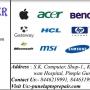 S.K. Computers, Laptop repair & services.
