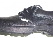 Single Density Leather Safety Shoe for Executives