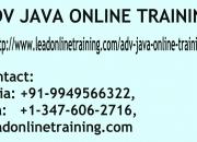 ADV JAVA Online Training | ADV JAVA basis Online Training in usa, uk, Canada, Malaysia.