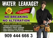 BATHROOM / TERRACE LEAKAGE? NO BREAKING NO ALTERATION STOP TERRACE & BATHROOM LEAKAGE WITH