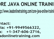 Core java online training | core java basis online training in usa, uk, canada, malaysia,
