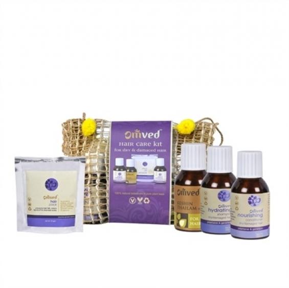 Hair care kit for dry & damaged hair