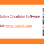 ISOWTC Introduced User-Friendly Heat Loss Calculation Calculator