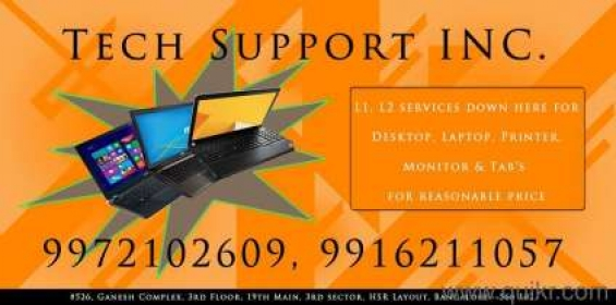 Laptop repairs in hrslayout techsupport inc