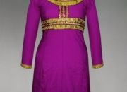 online shopping for Pracheenkala purple art crepe silk kurti from unnatisilks