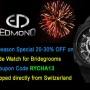 OFF on All Items Purchase from Edmond Watches – Wedding Special