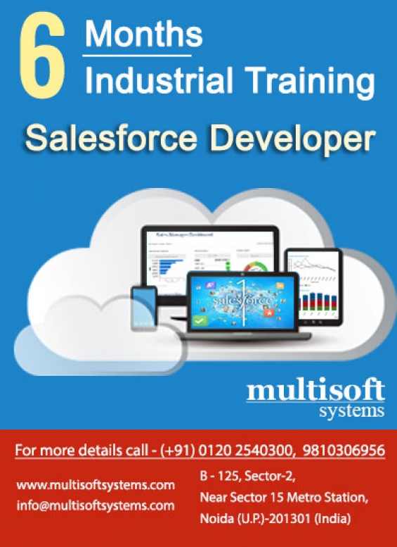 Salesforce developer training from multisoft systems – seize the opportunity!