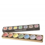 Sapta Chakra Tea Light Set