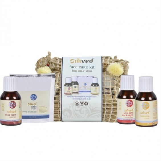 Face care kit for oily skin