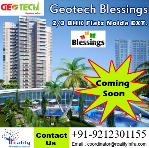 Geotech blessings sector-1 noida extension