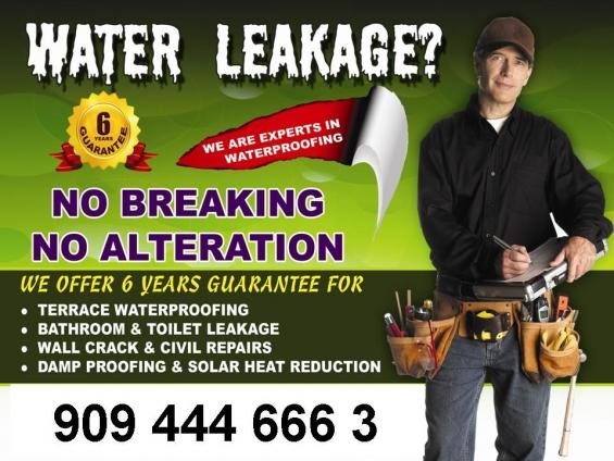Mr fixit for wall crack & civil repairs