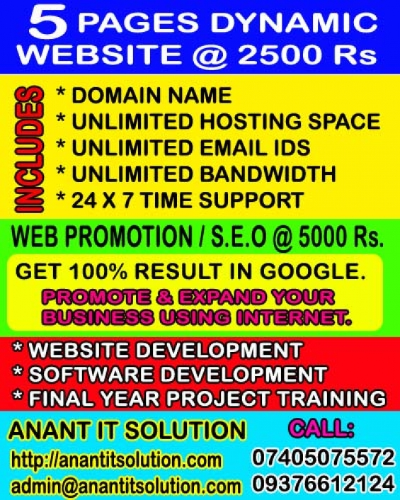 E commerce website development @ 8000 rs. affordable web design and development services i
