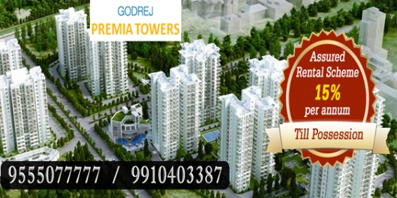 Godrej premia towers gurgaon @ 9555o77777