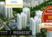 Godrej premia towers gurgaon @ 9555o77777