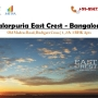 Salarpuria East Crest HOmes Sale on Rs. 4090/SQFT in Bangalore