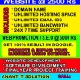 Website development or Website promotion package starts at 2500 Rs. in ahmedabad, gujarat,