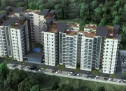 1330sq.ft Unfurnished 3 BHK Flat for sale in AECS Layout.