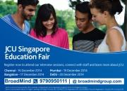 JCU Singapore Education Fair 2014 at Chennai