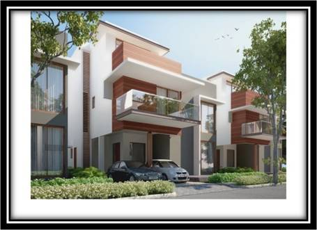 Semi furnished villa for sale at sarjapur road